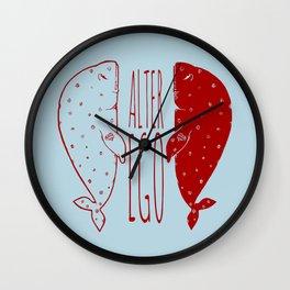 """""""Sad"""" la ballena tristona y su alter ego Wall Clock"""