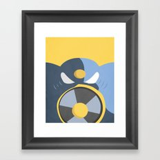 Air Man Boss Framed Art Print