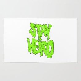 Stay Weird Rug