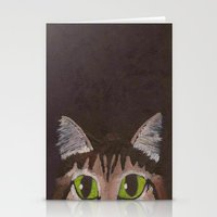 greg guillemin Stationery Cards featuring Greg by Addie