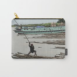 Boating in Bangladesh Carry-All Pouch