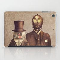 victorian iPad Cases featuring Victorian Robots  by Terry Fan