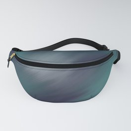 Starburst in Blue and Green Fanny Pack