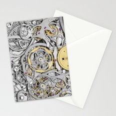 Watch Mechanism Stationery Cards