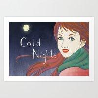 Cold Nights Art Print