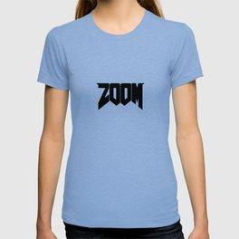 ZOOM Logo Black T-shirt