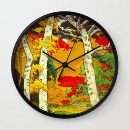 Home at Syin Wall Clock