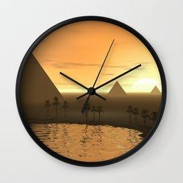 The Giza Necropolis Wall Clock