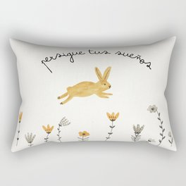 bunny dreams Rectangular Pillow