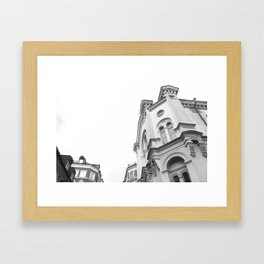 Local church  Framed Art Print