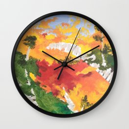 """""""Look Up North"""" - Right Panel Wall Clock"""