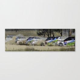 Nathan Quinn - The dust storm Canvas Print