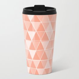 Coral Triangles Travel Mug