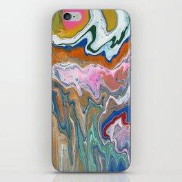 Melting Rainbow II iPhone Skin