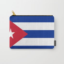Flag of Cuba Carry-All Pouch