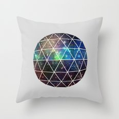 Space Geodesic Throw Pillow