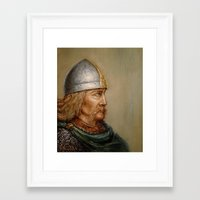 viking Framed Art Prints featuring VIKING by Arturas