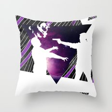To Infinity and Goodbye Throw Pillow