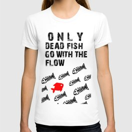 only dead fish T-shirt