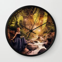 Masha and the Bear Wall Clock