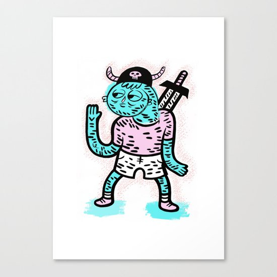 Pirate Guy Canvas Print
