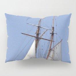 Tall ship Sailing the mighty Saint-Lawrence Pillow Sham