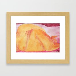 In Repose Framed Art Print