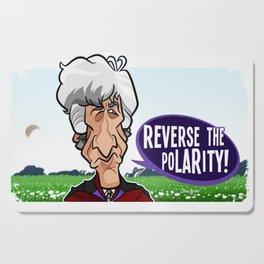 Reverse the Polarity Cutting Board