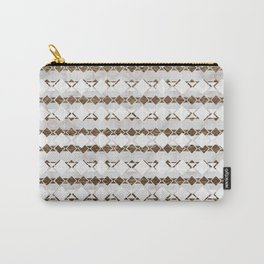 Ethnic Geo Carry-All Pouch