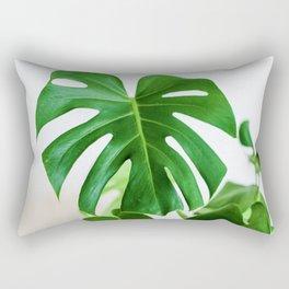 Botanical Green (Color) Rectangular Pillow