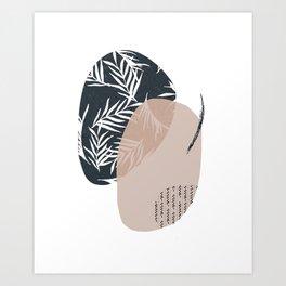 Tropical vibes II Art Print