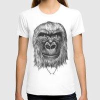 gorilla T-shirts featuring Gorilla  by Кaterina Кalinich