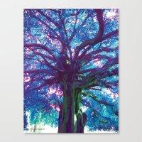 arya Canvas Prints featuring Arya - The Tree of Life by earthspiritartdesign