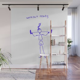 Werkout Ready Wall Mural