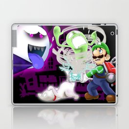 Luigi's Mansion: Dark Moon Laptop & iPad Skin