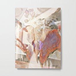 BirdSkull Metal Print