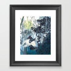 Owl Path Framed Art Print