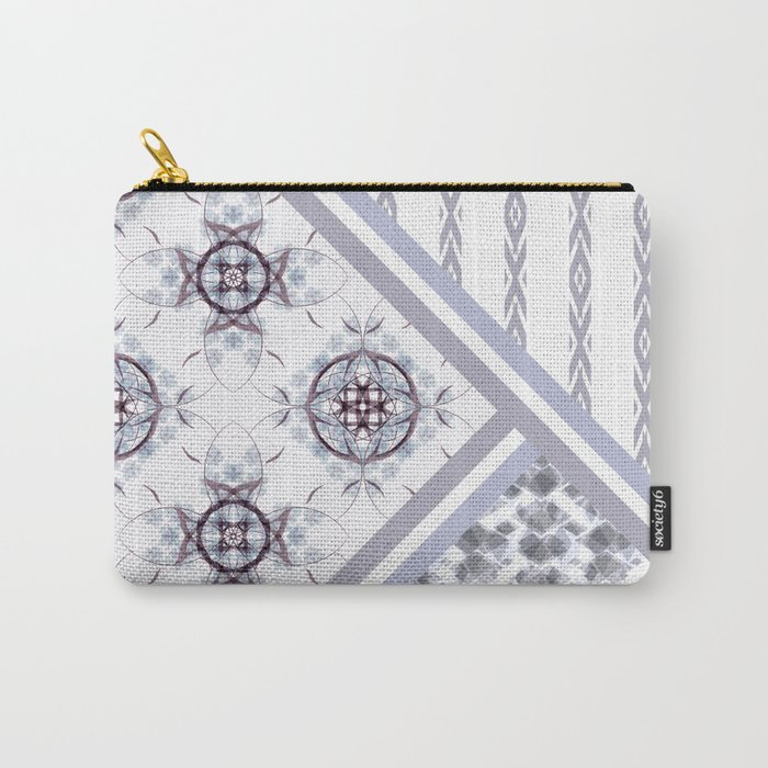 Patchwork. Abstract pattern. Carry-All Pouch