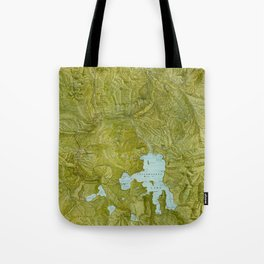 Map of Yellowstone 1898 Tote Bag