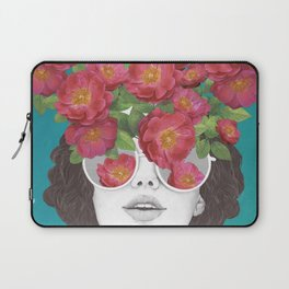The optimist // rose tinted glasses Laptop Sleeve