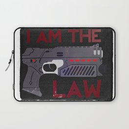 I AM THE LAW Laptop Sleeve