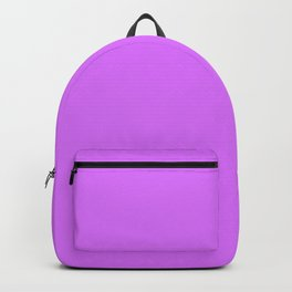 Heliotrope - solid color Backpack