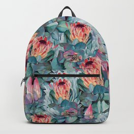 Protea flowers Backpack