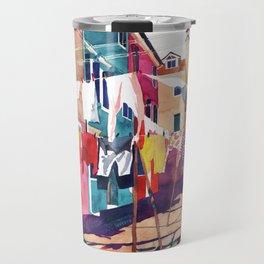Laundry in Venice Travel Mug