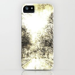 Greenwich Park London 1870 iPhone Case