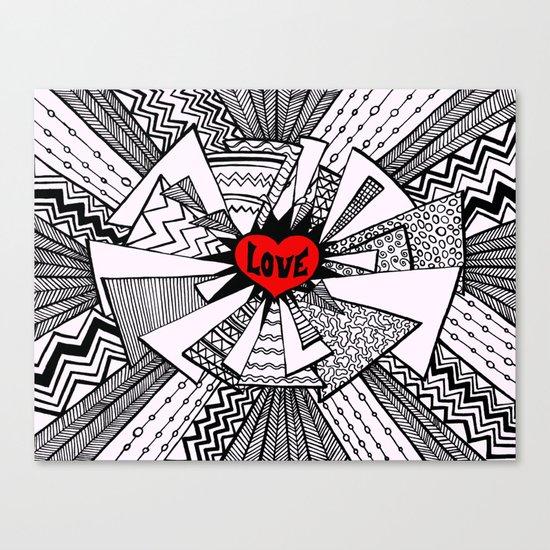 Power of Love... Canvas Print