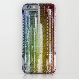 illustrations city metropolis gotham iPhone Case