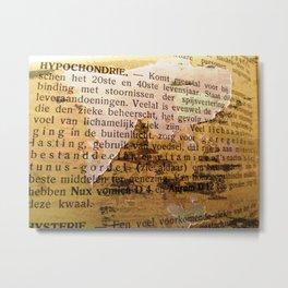 Hypochondria Metal Print