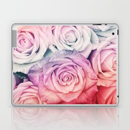 Some people grumble II  Floral rose flowers pink and multicolor Laptop & iPad Skin