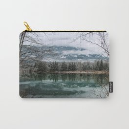 snowy reflection Carry-All Pouch